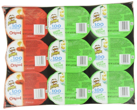 Pringles 2 Flavor Snack Stacks 0.63 Ounce 18 count - Chickadee Solutions - 1