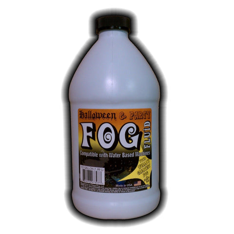 1 Half Gallon (64 Oz.) - Halloween Party & DJ Fog Juice for Water Based Fog M... - Chickadee Solutions - 1
