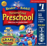 READER RABBIT PER PRESCHOOL DLX 2CD JC - Chickadee Solutions