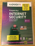 Kaspersky Lab Internet Security Premium Protection 3 Devices 2014 Sealed - Chickadee Solutions