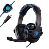 Sades Stereo 7.1 Surround Pro USB Gaming Headset with Mic Headband Headphone ... - Chickadee Solutions - 1