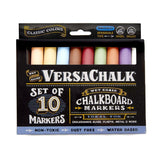 Chalkboard Chalk Markers by VersaChalk - Classic Colors (10-Pack) | Dust Free... - Chickadee Solutions - 1