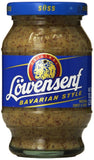 Lowensenf Mustard Jar Bavarian Sweet 10.20 Ounce - Chickadee Solutions - 1