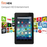"Fire HD 6 Tablet 6"" HD Display Wi-Fi 16 GB - Includes Special Offers Black - Chickadee Solutions - 1"
