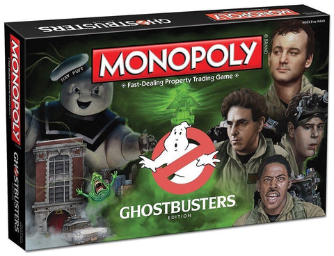 Monopoly: Ghostbusters Edition Board Game - Chickadee Solutions - 1