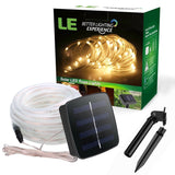 LE 16.5ft LED Solar Rope Lights Waterproof 50 LEDs Outdoor Rope Lights Warm W... - Chickadee Solutions - 1