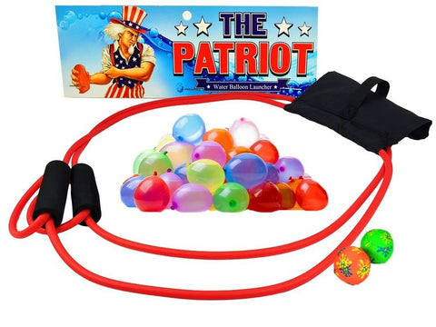 The Patriot Water Balloon Launcher / Snowballs Pumpkins Apples Eggs / Backyar... - Chickadee Solutions - 1