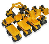 Toy State CAT Caterpillar Construction Toys Mini Machine set of 12 Assorted -... - Chickadee Solutions - 1