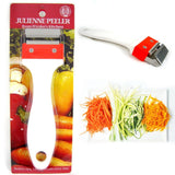 Kinpira Julienne Peeler Stainless Steel Vegetable Fruit Potato Cutter Slicer ... - Chickadee Solutions - 1