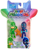 Disney Junior PJ Masks Gekko & Night Ninja Action Figure 2-Pack - Chickadee Solutions
