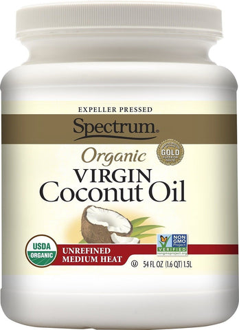 Spectrum Organic Virgin Coconut Oil Unrefined 54 Ounce - Chickadee Solutions - 1
