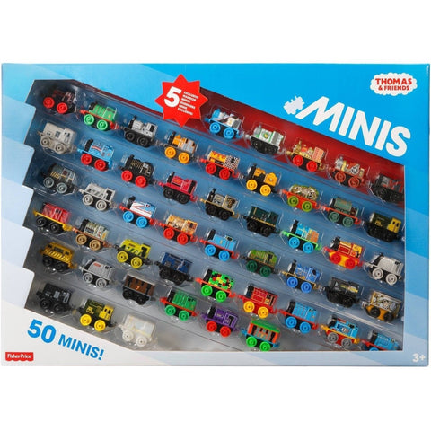 Thomas and Friends Minis Collection of 50 - with 5 Exclusive Warrior Minis - Chickadee Solutions - 1