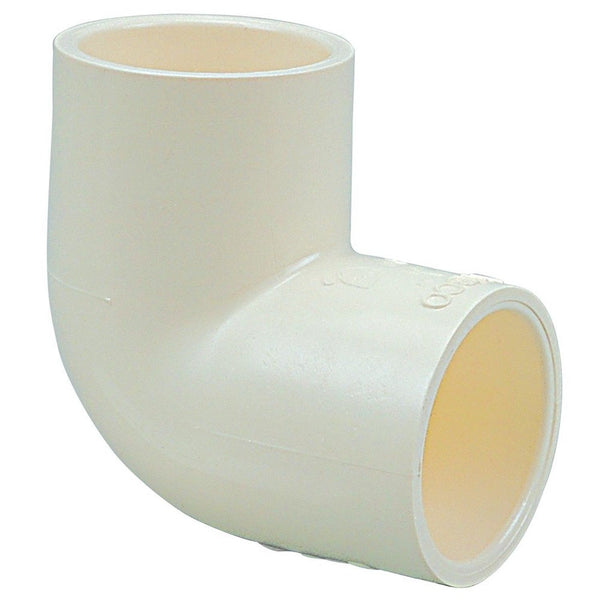 Nibco 4707 series cpvc pipe fitting 90 degree elbow 1 2 for Is pex better than cpvc