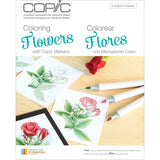 Copic Marker Books Coloring Flowers - Chickadee Solutions