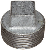 "Anvil 8700159703 Malleable Iron Pipe Fitting Square Head Plug 1/8"" NPT Male G... - Chickadee Solutions"