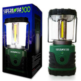 Supernova 500 Ultra Bright Camping & Emergency LED Lantern Forest Green - Chickadee Solutions - 1