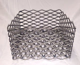 "White Arc Smokers Charcoal Basket (Offset Smokers with Firebox) 10"" x 10"" x 6"" - Chickadee Solutions - 1"