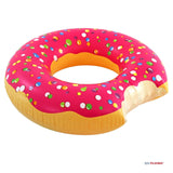 Play Platoon Jumbo Donut Pool Float - Gigantic Pink Donut Inflatable - Fun fo... - Chickadee Solutions - 1