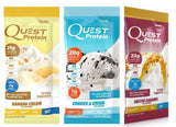 Quest Nutrition Protein Powder Packets (12 Count) 4 Banana Cream 4 Cookies an... - Chickadee Solutions