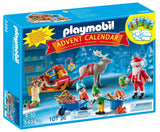 PLAYMOBIL Santa's Workshop Advent Calendar (Discontinued by manufacturer) - Chickadee Solutions - 1
