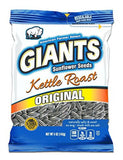 Giants Kettle Roast Sunflower Seeds 12 packs - 5 oz bags - Chickadee Solutions - 1