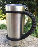 Tumbler Handle for Yeti and Rtic Rambler 20 Oz Handmade Paracord Handles Fits... - Chickadee Solutions - 1