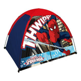 Spiderman Kid's 2 Pole Dome Tent with Zip T Doors 4x3-Feet/36-Inch - Chickadee Solutions