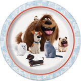 The Secret Life of Pets Dinner Plates 8ct - Chickadee Solutions