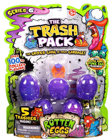 Trash Pack S6 Action Figure (5-Pack) - Chickadee Solutions - 1