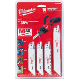 Milwaukee 49-22-0220 10-Piece General Purpose Hackzall Blade Set - Chickadee Solutions
