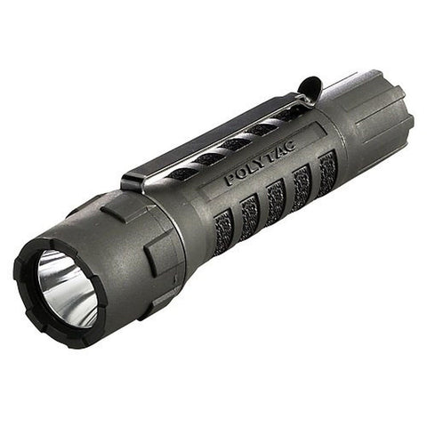 Streamlight 88850 PolyTac LED Flashlight with Lithium Batteries Black - Chickadee Solutions