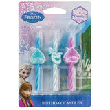 Disney's Frozen Icon Birthday Cake Candles - 6 pc - Chickadee Solutions
