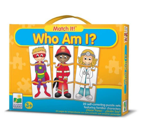 The Learning Journey Match It! Who Am I? - Chickadee Solutions - 1