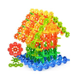 Mommys Choice Snowflake Plastic Building Blocks 500 Pieces | Awesome Activity... - Chickadee Solutions - 1