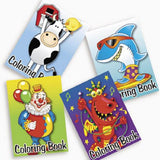 72-pack of Kid's Coloring Books ~ Great Party Favors! Assorted Designs - Chickadee Solutions