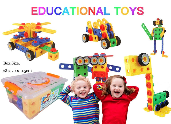 Eggs Building Toys For Boys : Creative builder set building toys for boys and girls