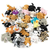 Plush Mini Bean Bag Animal Assortment by Fun Express - Chickadee Solutions