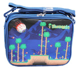 Terraria Navy Blue Colored Insulated Kids Lunch Bag - Chickadee Solutions - 1