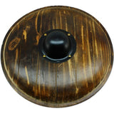Viking Gokstad Shield Real Wooden Round Functional Norse Reproduction - Chickadee Solutions - 1