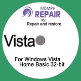 Windows System Live Boot OS Repair Recovery for Windows Vista Home Basic 32-b... - Chickadee Solutions - 1