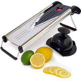 Kitchen Elite V Blade Mandoline Slicer - Deluxe Heavy Duty Stainless Steel - Chickadee Solutions - 1
