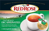 Red Rose Naturally Decaffeinated 12ct Single-Serve Cups - 1 Box - Chickadee Solutions