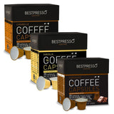 60 Bestpresso Nespresso Compatible Gourmet Coffee Capsules -Flavored Variety ... - Chickadee Solutions - 1