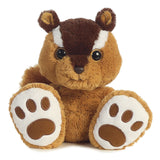 Aurora World Taddle Toes Nutsy Chipmunk Plush - Chickadee Solutions - 1