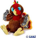 Webkinz HM418 Thanksgiving Turkey Plush Animal - Chickadee Solutions