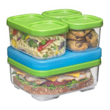 Rubbermaid Lunchblox Sandwich Kit (2 Pack) Green - Chickadee Solutions - 1