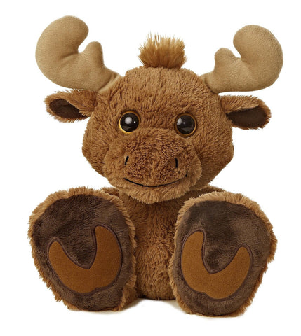 "Aurora World Taddle Toes Maple Moose Plush 10"" - Chickadee Solutions - 1"