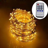 Dreamworth 165ft Led String Lights500 Led Starry Lights on 50M Silver Coating... - Chickadee Solutions - 1