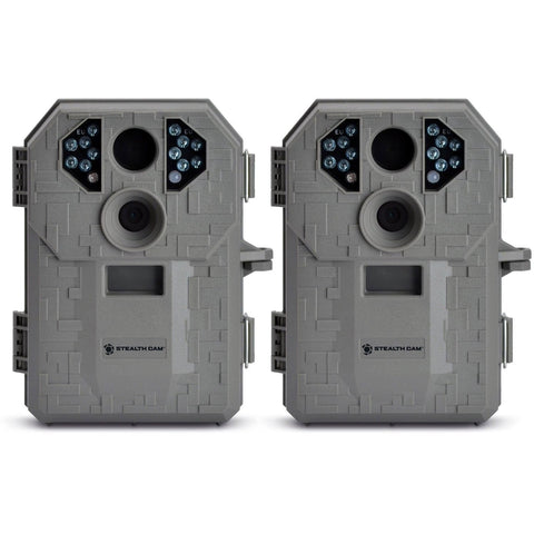 (2) Stealth Cam P12 Digital Trail Game Camera 6MP | STC-P12 - Chickadee Solutions - 1