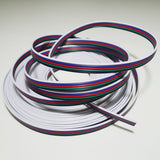LEDENET 10m RGBW Extension Cable Line 5 Color for RGBW LED Strip 5050 ribbon ... - Chickadee Solutions